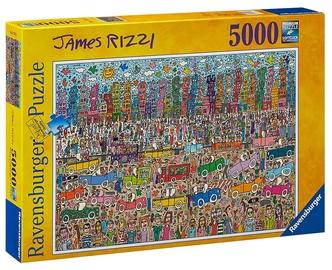 Dėlionė Ravensburger Puzzle James Rizzi 5000pcs