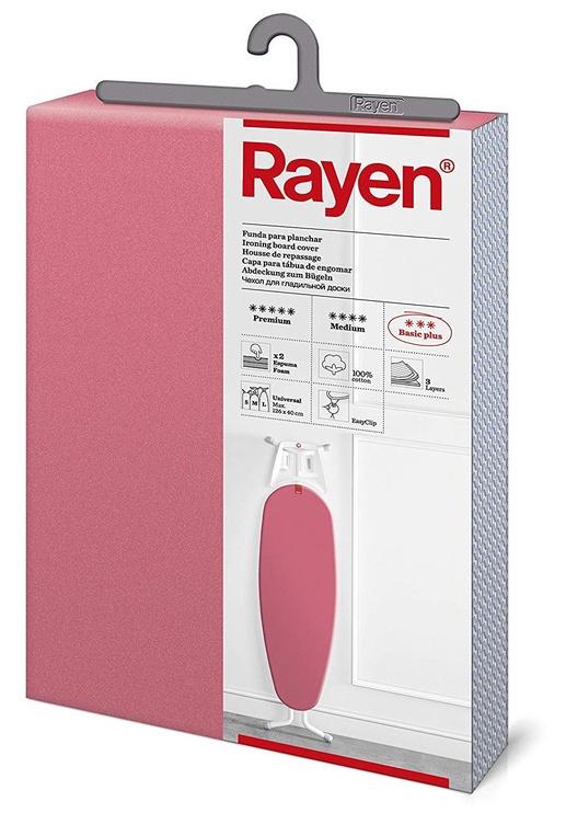 Чехол для гладильной доски Rayen Basic Plus Easyclip Ironing Board Fabric 130x47cm Pink