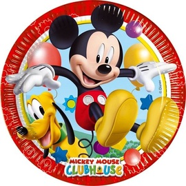 Dajar Playful Mickey Paper Plates 8PCS