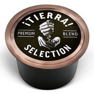 Kavos kapsulės Lavazza Blue Tierra Selection 9 g