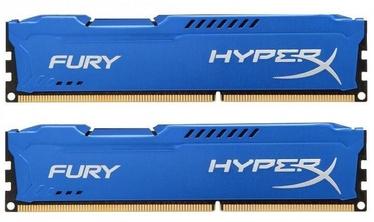 Kingston 16GB DDR3 PC14900 CL10 DIMM HyperX Fury Blue Series KIT OF 2 HX318C10FK2/16