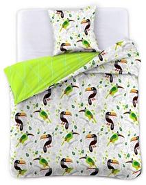 Комплект постельного белья DecoKing, многоцветный, 155x220