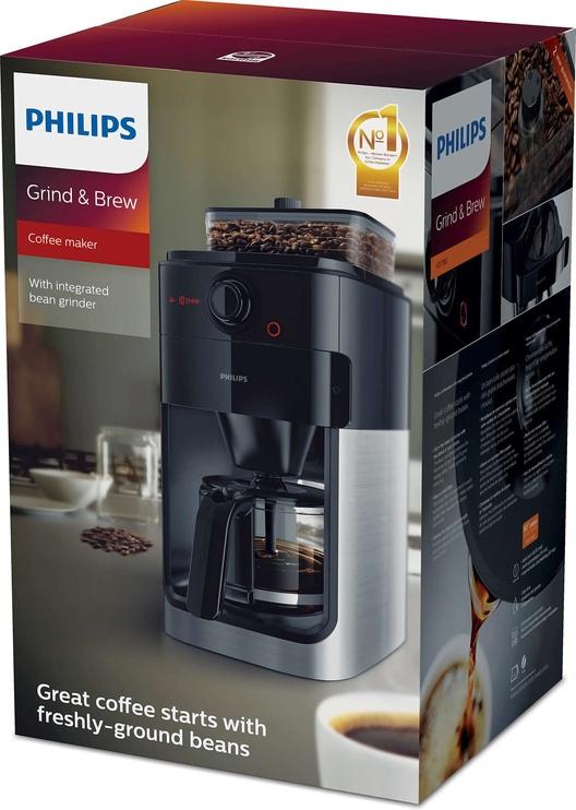 Kavos aparatas Philips Grind & Brew HD7767/00