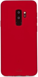 Puro Icon Back Case For Samsung Galaxy S9 Plus Red