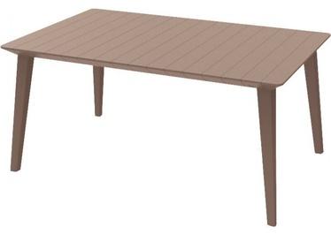 Dārza galds Keter Lima 160, smilškrāsas