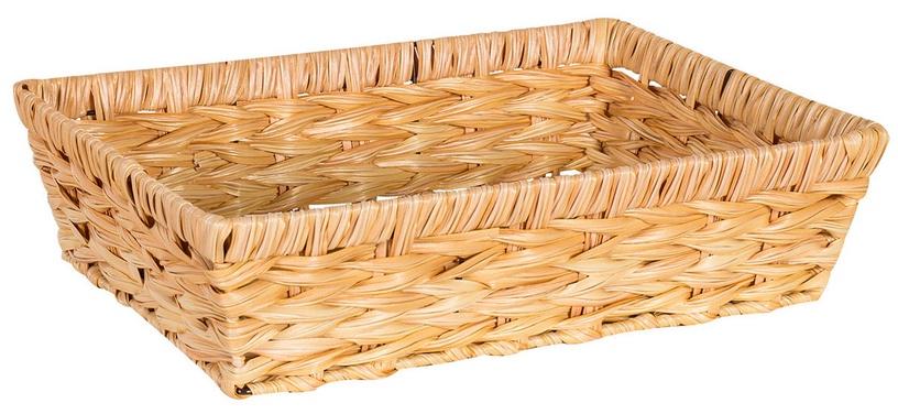 Home4you Basket Rubys 3 31x21x8cm Light Brown