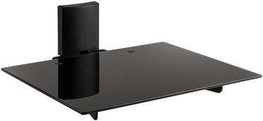 Televizoriaus laikiklis Meliconi RTV Slim Style AV Shelf Plus Black