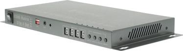 Konig 2 x 4-Port HDMI Matrix Switch Dark Grey