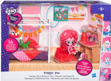 Hasbro My Little Pony Equestria Girls Minis Pinkie Pie Slumber Party Bedroom Set