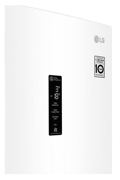 LG GBB72SWDZN White