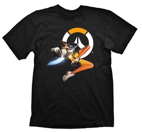 Gaya Entertainment T-Shirt Overwatch Tracer Black L