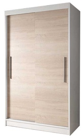 Idzczak Meble Wardrobe Neomi 4 White/Sonoma Oak