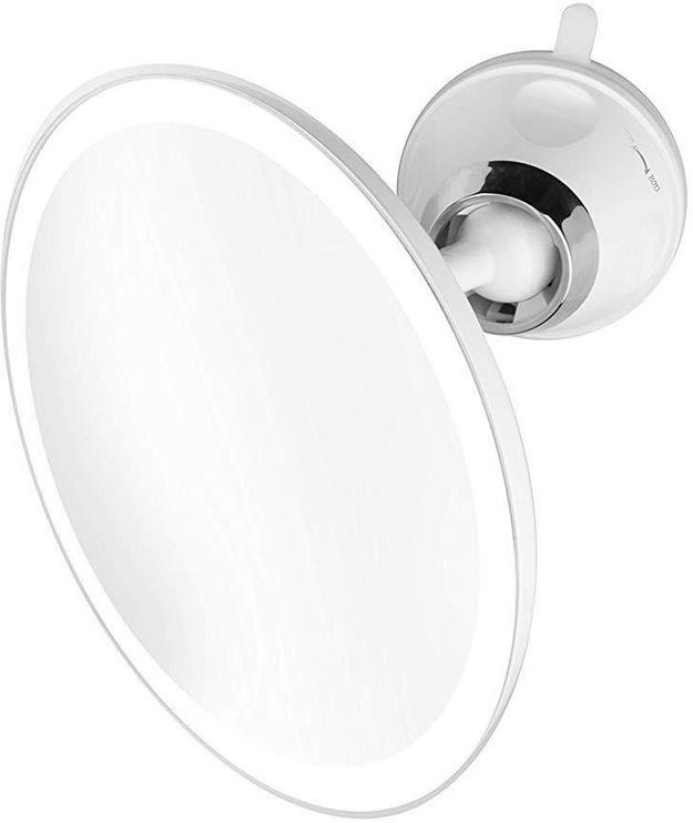 Meigipeegel Medisana CM 850 White, valgustusega, liimitav, 19x19 cm
