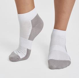 Kojinės Audimas Short Cotton Fiber White, 41-43, 1 vnt.