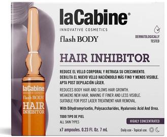 Komplekts La Cabine Flash Body Hair Inhibitor, 49 ml, 7 gab.