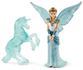 Žaislinė figūrėlė Schleich Bayala Movie Eyela With Unicorn Ice Sculpture 70587