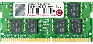 Transcend 4GB DDR4 2133MHz CL15 SO-DIMM ECC TS512MSH72V1H