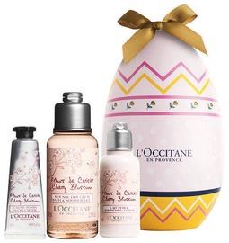L´Occitane Fleurs De Cerisier Cherry Blossom Shimmering Lotion 35ml + 10ml Hand Cream + 75ml Bath & Shower Gel