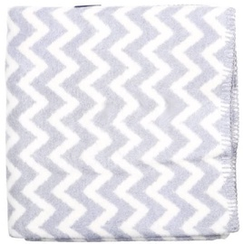 Womar Baby Blanket Zig-Zag 75x100cm White/Grey