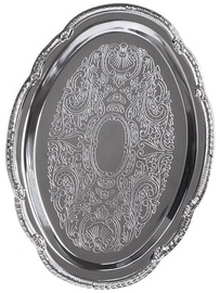 Fissman Serving Tray Chrome 24х17cm 9421