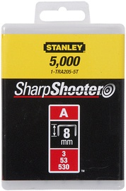 Stanley TRA205-5T 8mm A-Type Light Duty Staples