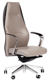 Chairman Basic Leather Grey
