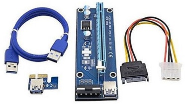 Gembird PCI-Express Riser Add-on card MOLEX Power