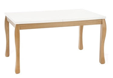Halmar Donovan Dining Table White/Natural Oak