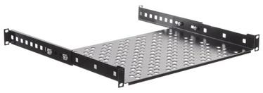 Riiul Netrack Equipment Shelf 19 '' 1U / 300mm Black
