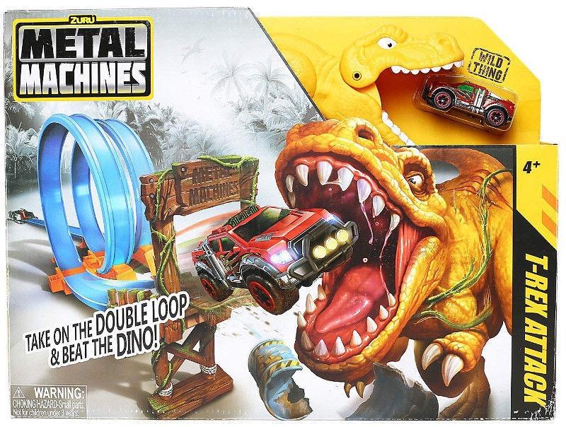 Žaislinė trasa Zuru Metal Machines T-Rex Attack 6702