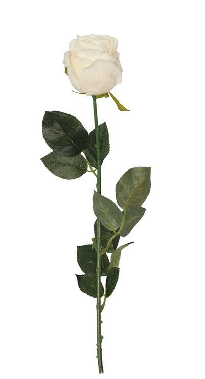 Искусственный цветок, белый
