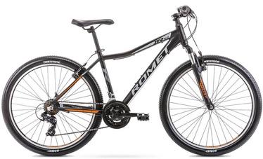 "Jalgratas Romet Rambler R6.0 JR, must/oranž, 17"", 26"""