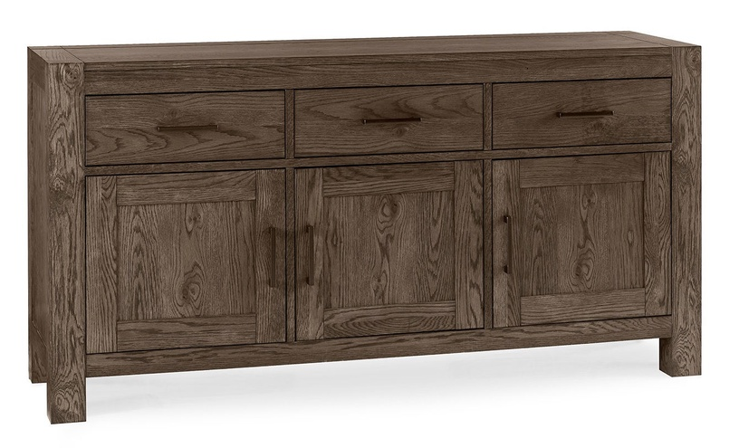 Home4you Turin Chests Of Drawers 46.5x160xH82cm Bleached Oak