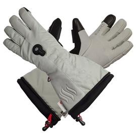 Glovii Heated Ski Gloves XL Gray