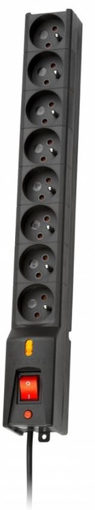 Lestar Surge Protector 8 Outlet Black 1.5m