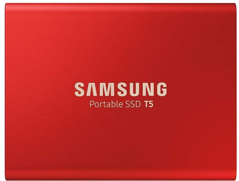 Samsung T5 SSD 1TB Metallic Red