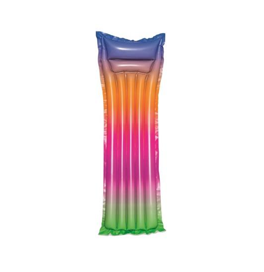 Pripučiamas čiužinys Bestway Rainbow, 183 x 69 cm