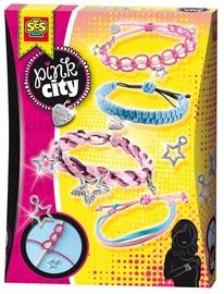 SES Creative Pink City Knotting Bracelets 14323