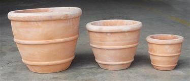 SN Ceramic Flower Pot TP16-194 D40cm Brown
