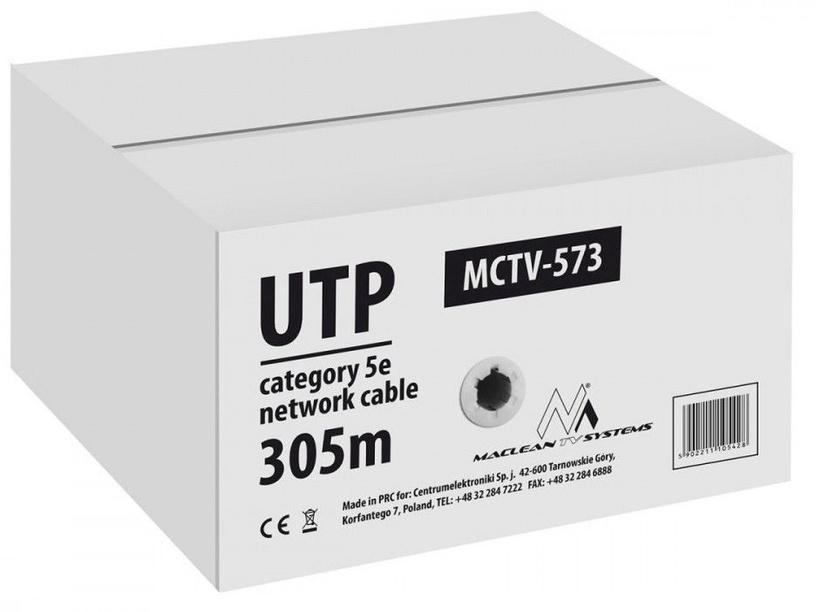 Maclean Cat 5e UTP Cable 305 m