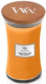 Kvepianti žvakė WoodWick Caramel Toasted Sesame Orange, 610g