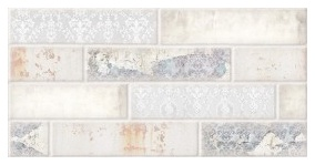 Keraminės dekoruotos plytelės Brick Dekupaž Mix, 30 x 60 cm