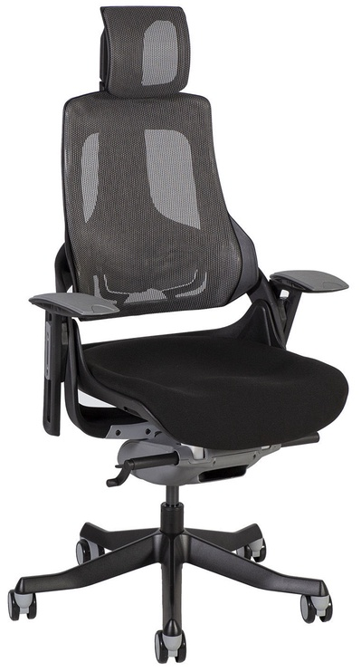 Home4you Office Chair Wau Black/Grey