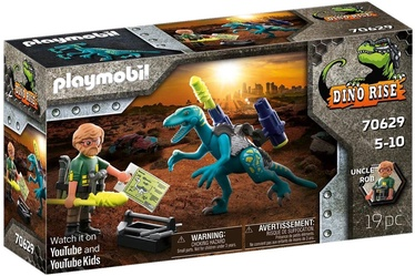 Konstruktor Playmobil Dino Rise Deinonychus: Ready for Battle 70629, 19 tk