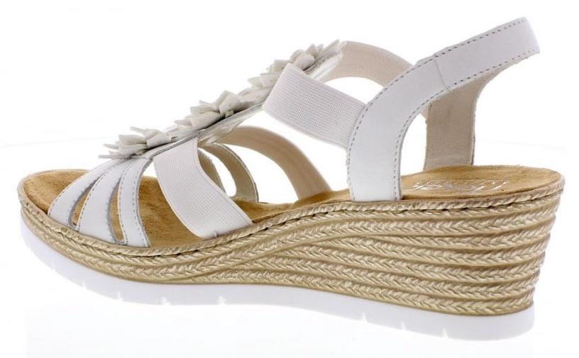 Rieker 61949 Sandals White 41
