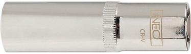 """NEO Long Socket Cr-V 1/2"""" 16mm"""
