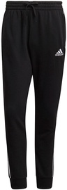 Adidas Essentials French Terry Tapered Cuff 3-Stripes Joggers GK8831 Black S