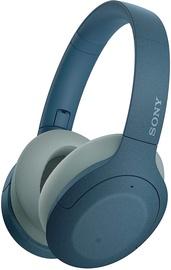 Ausinės Sony WH-H910N Over-Ear Blue, belaidės