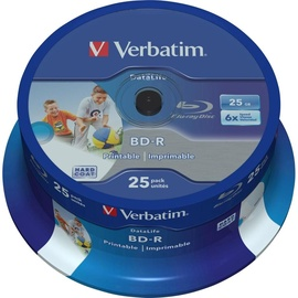 Verbatim BluRay BD-R 25GB 6x 25pcs