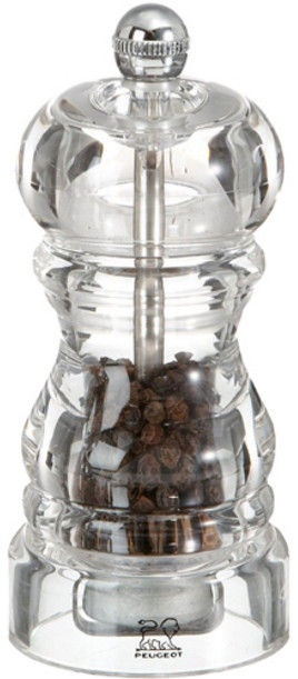 Peugeot Saveurs Nancy Acrylic Pepper Mill 12cm